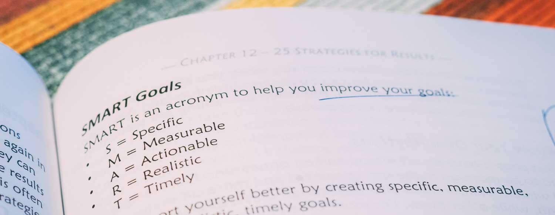 Smart goals van boek Getting Results the Agile Way van J.D. Meier