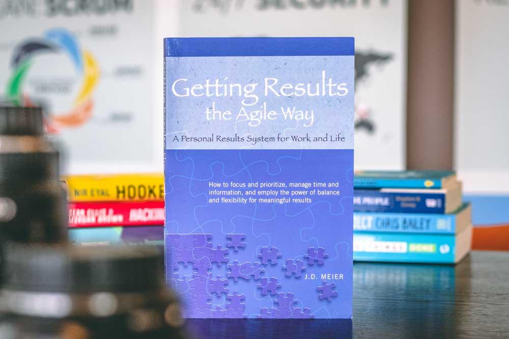"""Boek: """"Getting Results the Agile Way"""" door J.D. Meier"""