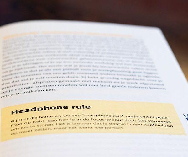 Headphone rule, komt verderop in het artikel ook nog terug