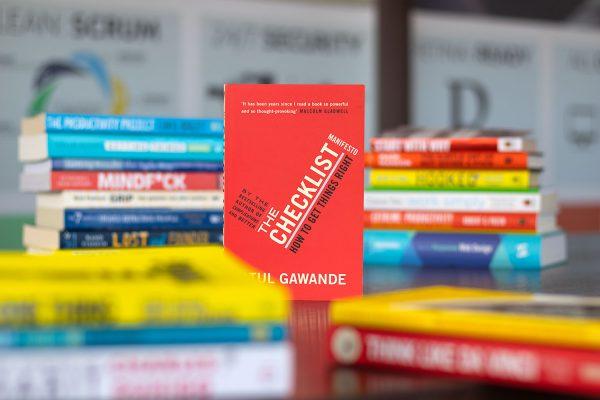 Boekcover The Checklist Manifesto van Atul Gawande