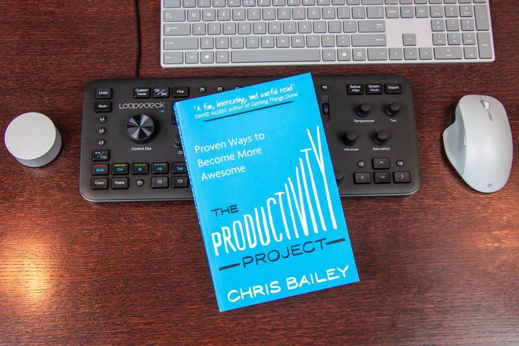 Boekcover The Producvity Project van Chris Bailey