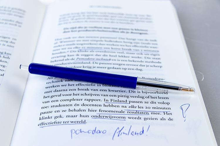 Onderwijs in Finland. Uit het boek: 'Focus AAN/UIT'.