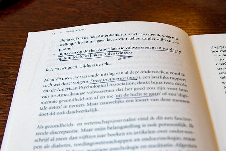 'Stress in America' uit het boek 'Ik maak het uit' door Catherine Price