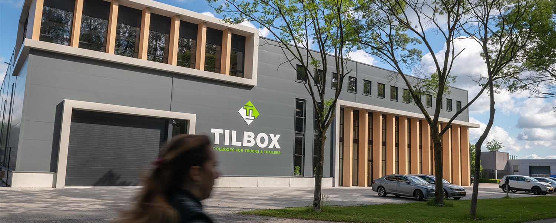 Het nieuwe pand van Tilbox in Valkenswaard